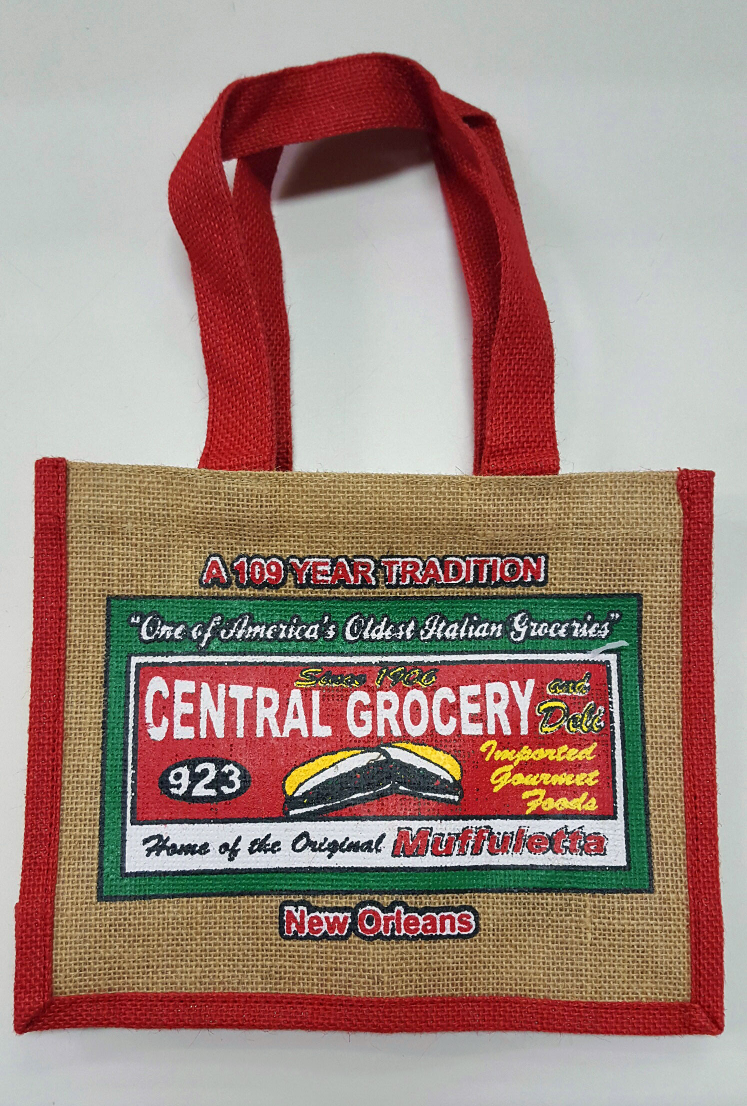 Central Grocery Co. New Orleans Small Reusable Shopping Bags