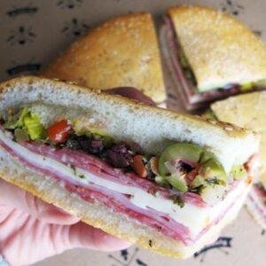 original muffuletta sandwich
