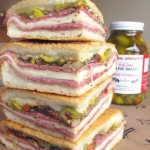 central grocery original muffuletta sandwich