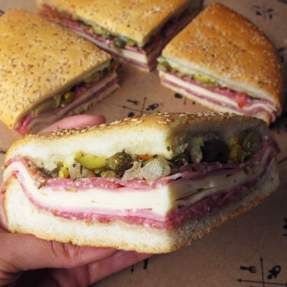 central grocery original muffuletta sandwich